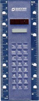 Succes Standard Solarrechner mit Lineal A6 Organizer Rechner Einheftbar XT185