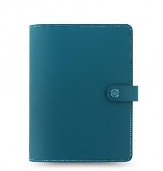 Filofax The Original Folio A5 Dark Aqua Notebook Konferenzmappe VL Leder 829952