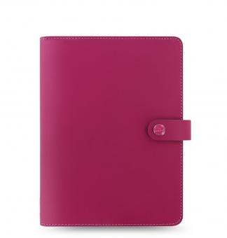 Filofax A5 Schreibmappe Notizbuch Leder The Original Raspberry Ledermappe 829953