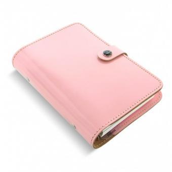 Filofax The Original Personal Patent Rose Pink Organizer A6 23mm Leder AY-022595