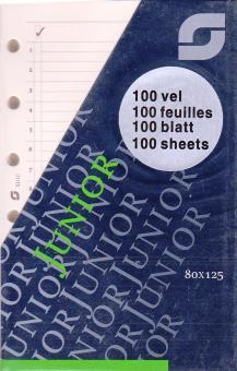 Succes Junior Notizpapier to Do - Aufgaben Creme 100 Blatt A7 Einlagen XJ11C