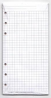 Time/system Compact Notizpapier Kariert weiß 16 Bl. Timer Ringbuch Einlage 44564
