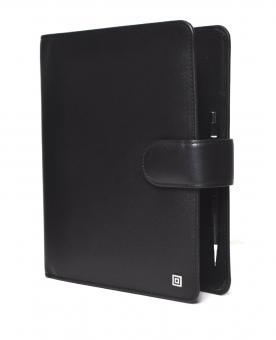 Time/system Klassik A5 Schwarz Ringbuch Business VL 35mm Organiser Leder 48469