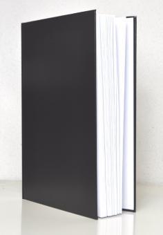 Time/system A4 Meetingbuch Notizbuch ohne Datumvorgabe schwarz Deutsch 60010