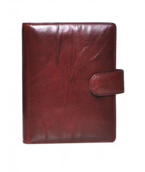 Succes Wrinkled Senior Bordeaux Rot Organiser 20mm Zeitplaner Ringbuch PS212WR03