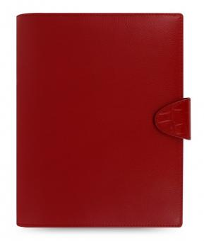 Filofax Calipso A5 Rot Organiser Terminplaner Leder A5 Kalender 022494