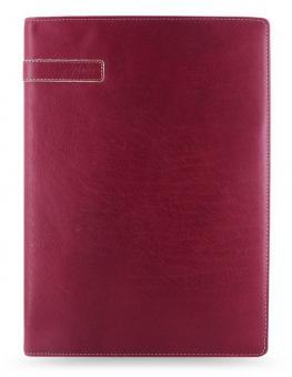 Filofax Holborn A4 Wine Folder Konferenzmappe Büffel-Leder Schreibmappe 827346