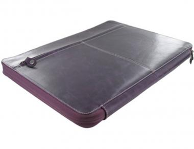 Filofax Malden Zipped Portfolio A4 Konferenzmappe Purple Lila  Aktenmappe 828078