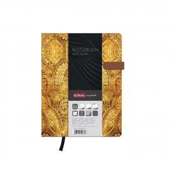 Herlitz 11369741 A6 Notizbuch my.book Lady Oriental Magnetverschluß 96 Blatt