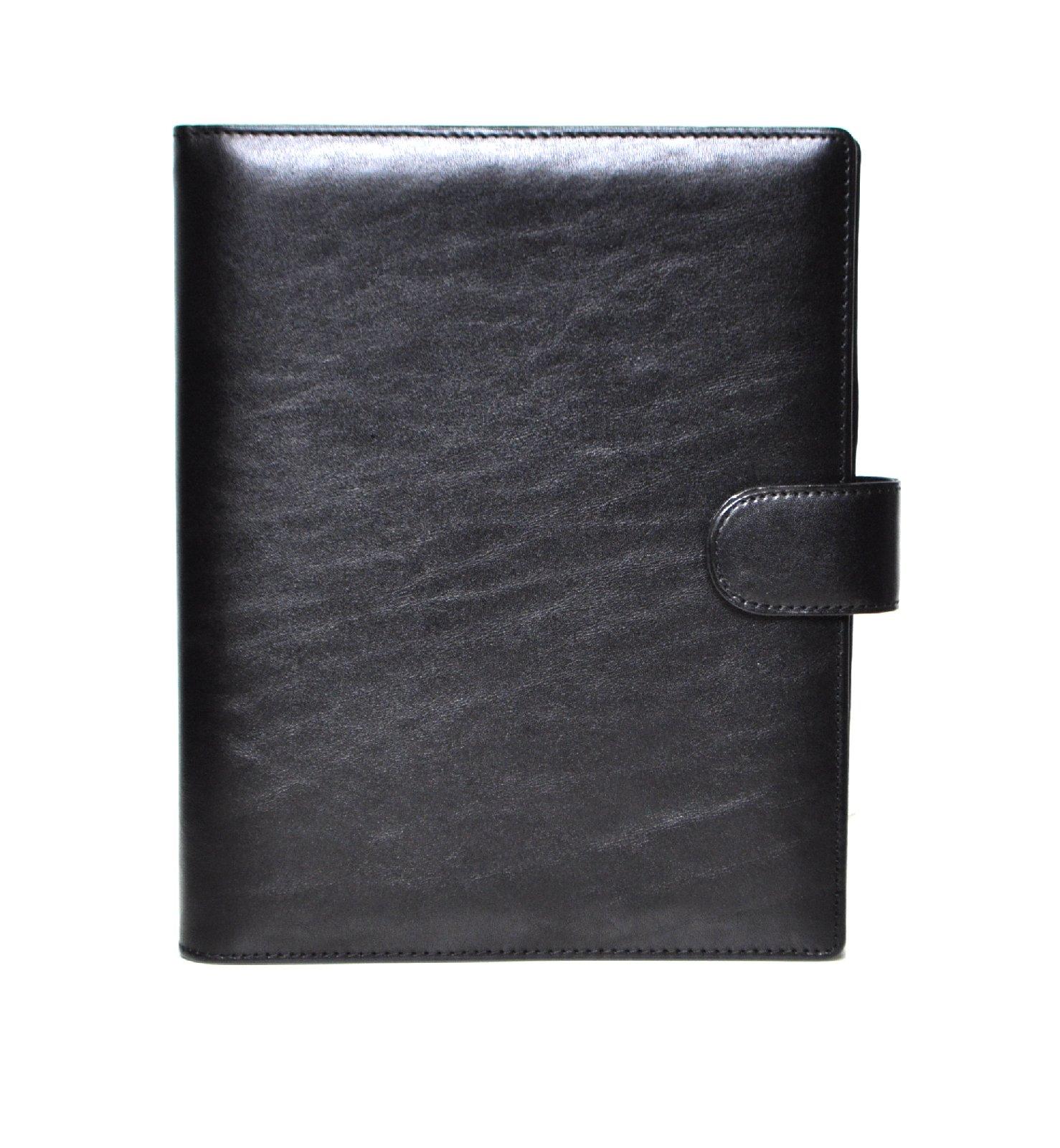 succes deluxe a5 schwarz organiser rindleder a5 kalender. Black Bedroom Furniture Sets. Home Design Ideas