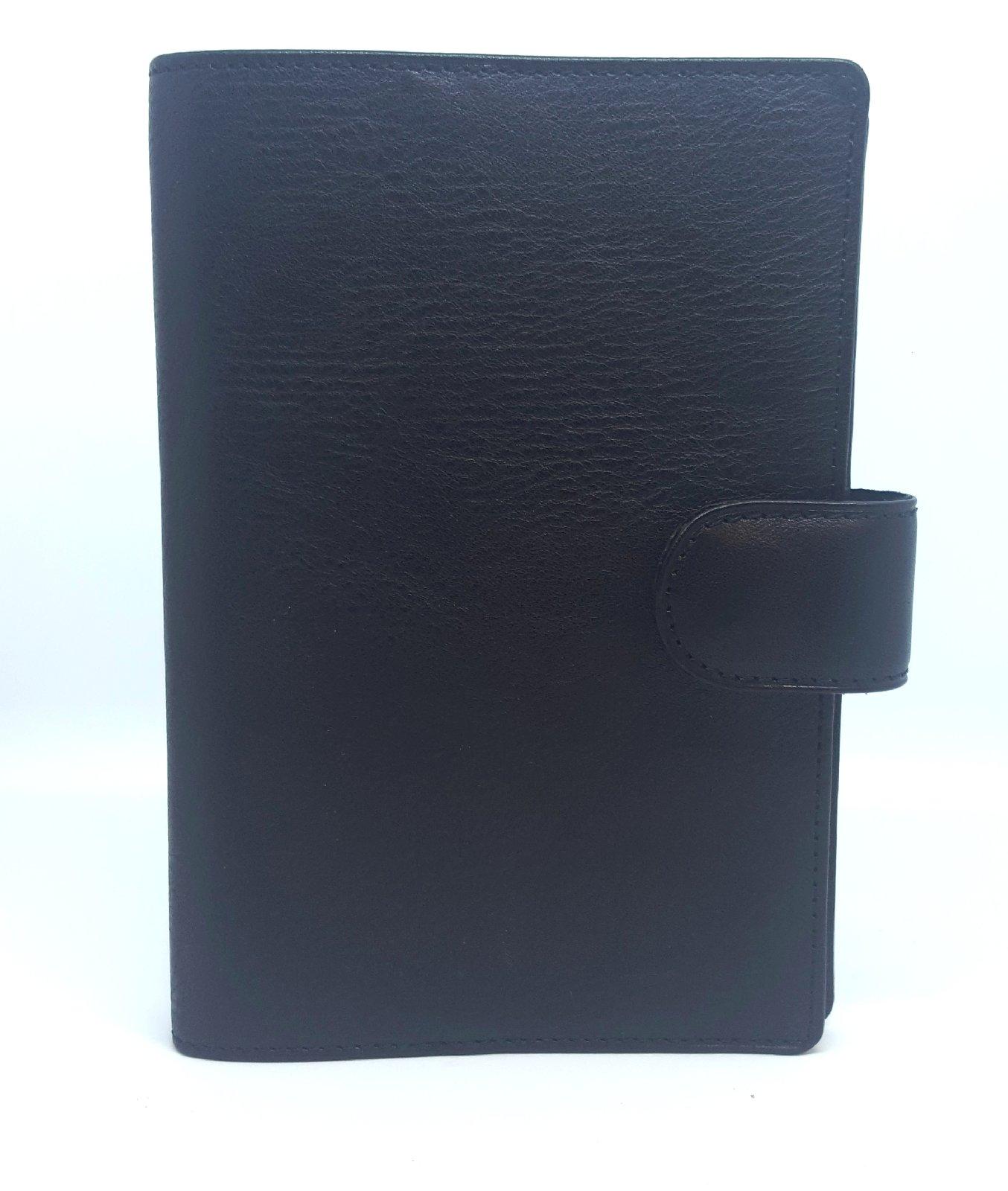 Organiser De Succes Cacao Standard Schwarz Leder 23mm