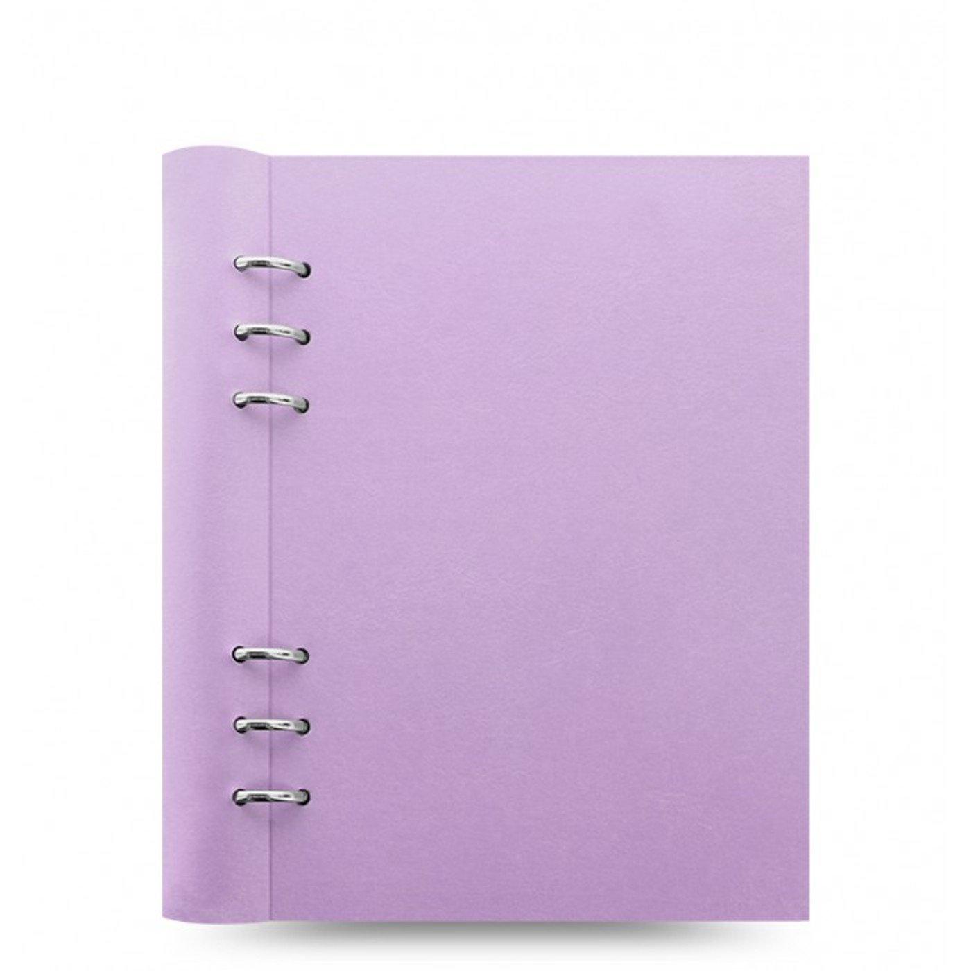 Filofax A5 Clipbook Notizbuch Orchid Violet Skizzenbuch Kladde Tagebuch 023623