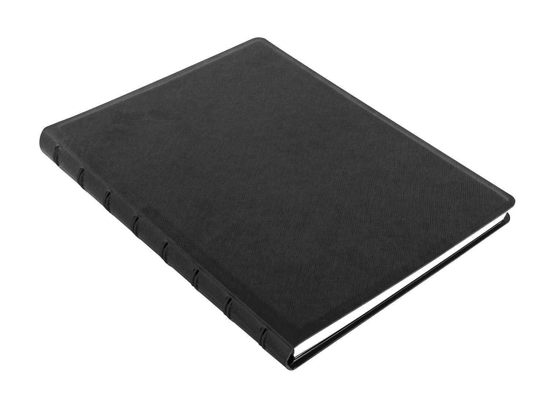 filofax notebook saffiano a5 schwarz. Black Bedroom Furniture Sets. Home Design Ideas