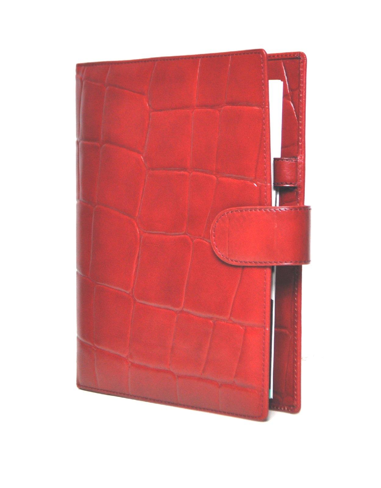 succes firenze a5 rot leder organiser. Black Bedroom Furniture Sets. Home Design Ideas