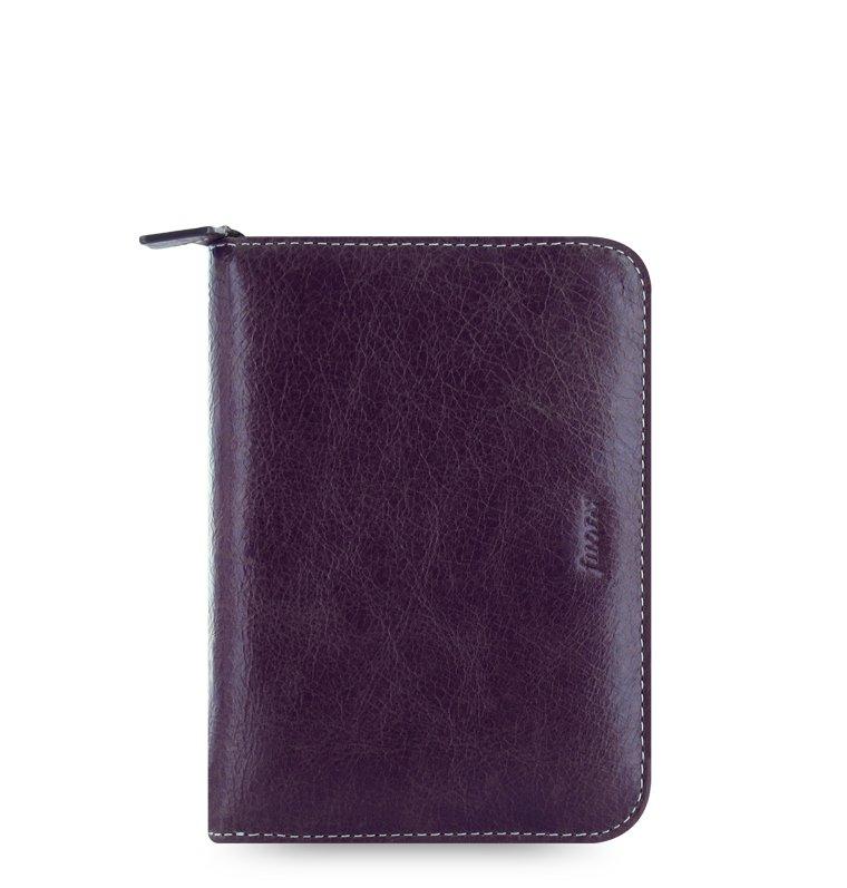 filofax malden pocket zip purple lila. Black Bedroom Furniture Sets. Home Design Ideas