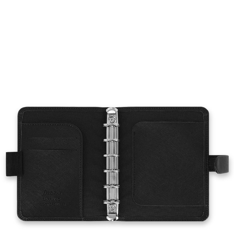 filofax saffiano pocket schwarz. Black Bedroom Furniture Sets. Home Design Ideas