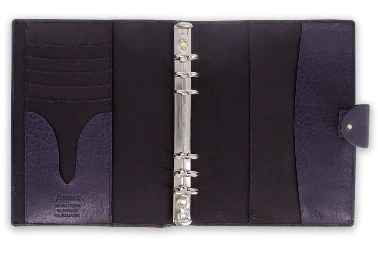 filofax charleston a5 purple lila organiser. Black Bedroom Furniture Sets. Home Design Ideas