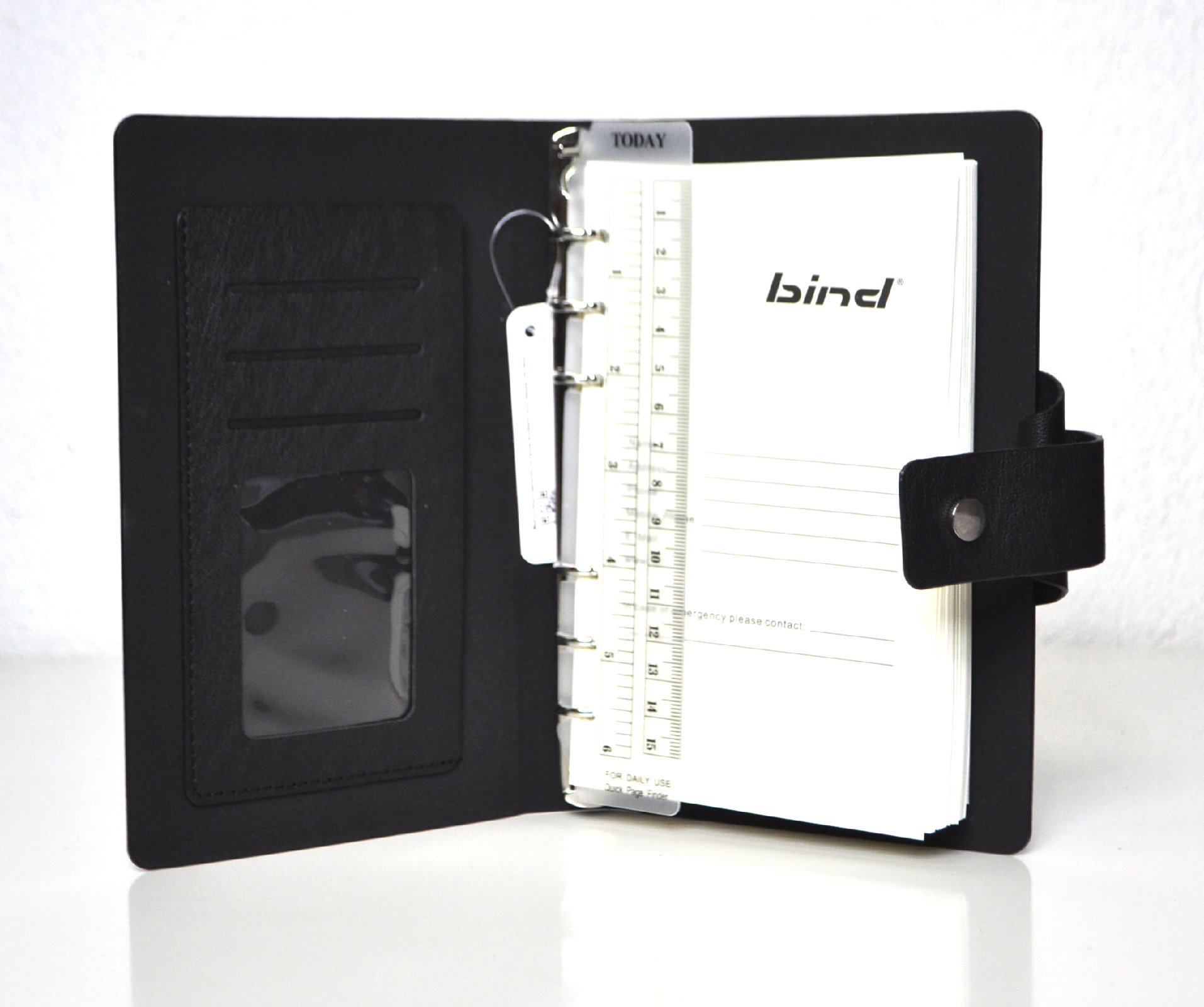 bind Notizbuch A5 mit Ringmechanik