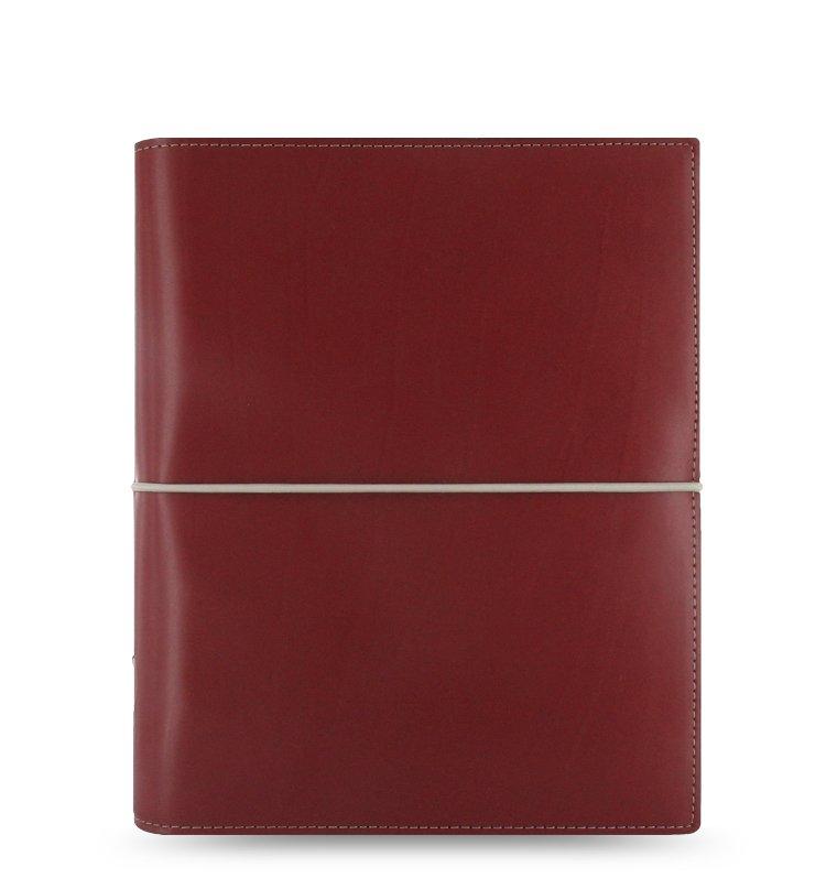filofax domino a5 rot organiser kunstleder verschlussgummi. Black Bedroom Furniture Sets. Home Design Ideas